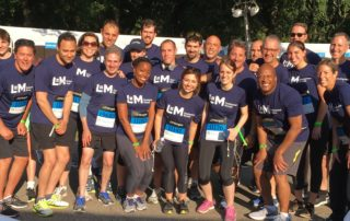 L+M Development Partners team participates in the 2017 JP Morgan Chase Corporate Run.